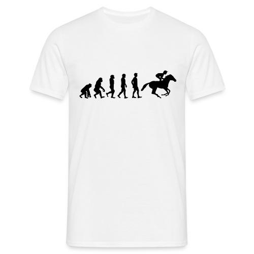Reiter Evolution - Männer T-Shirt