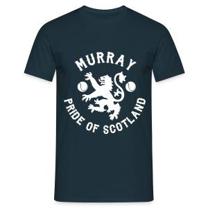Murray - Scottish Pride. Mens T Shirt. Navy. - Men's T-Shirt