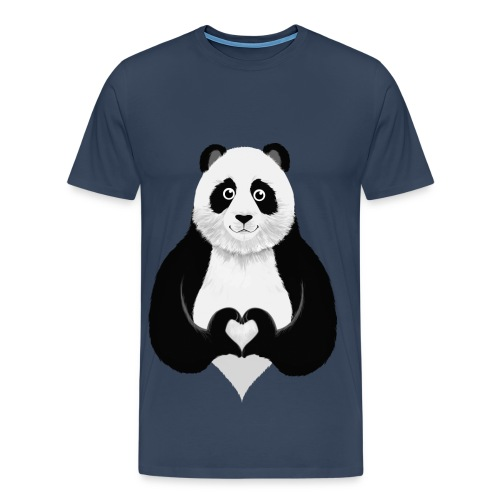 PandaT-Shirt - Miesten premium t-paita
