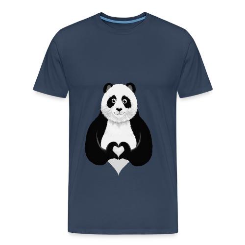 Panda T-Shirt - Miesten premium t-paita