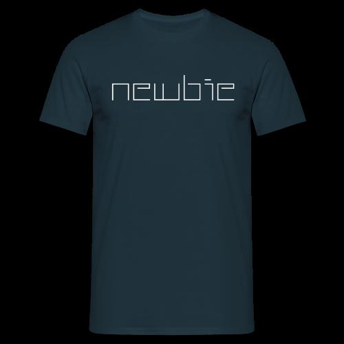 T-Shirt mit Aufdruck Newbie - Männer T-Shirt