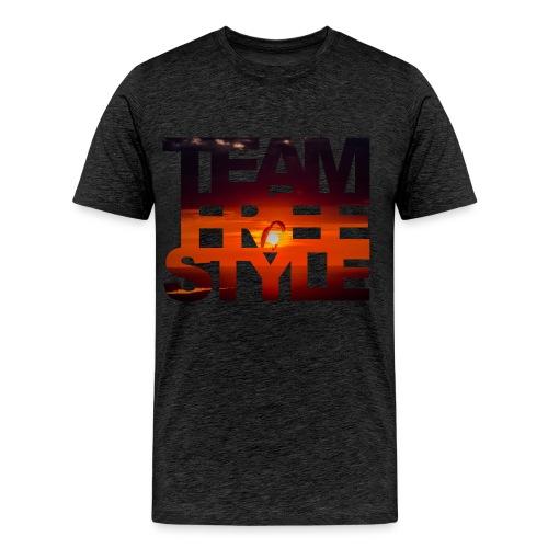 SunsetSidebySide - Männer Premium T-Shirt