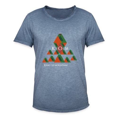 KOM-King of Mountain - Männer Vintage T-Shirt