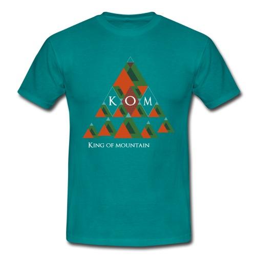 King of Mountain - KOM - Männer T-Shirt