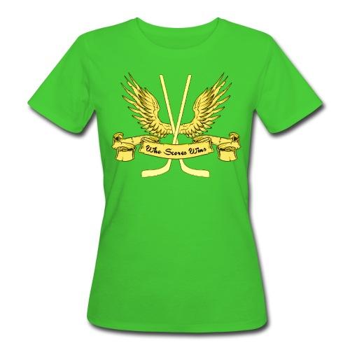 Who Scores Wins Women's Organic T-Shirt - Women's Organic T-shirt