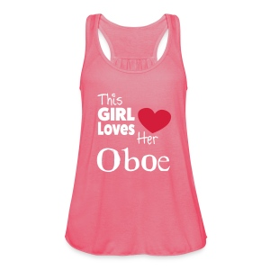 This Girl Loves Her Oboe  - Women's Tank Top by Bella