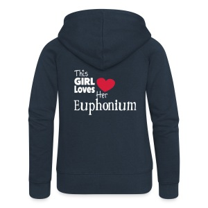 This Girl Loves Her Euphonium - Premium hettejakke for kvinner