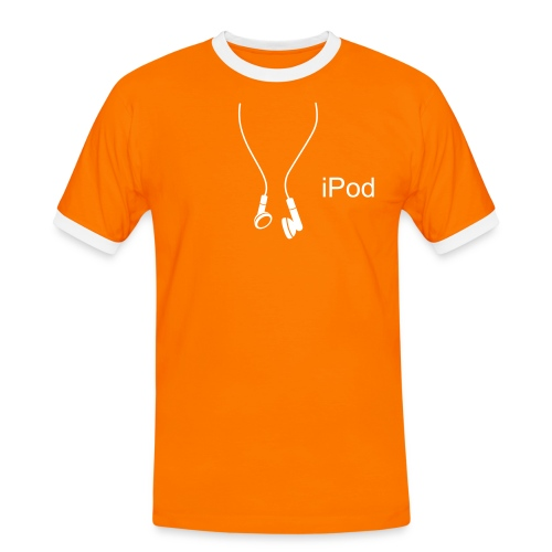 iPod ...therefore I am - Men's Ringer Shirt