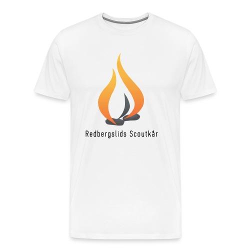 Kårtröja ungdom/vuxen - Premium-T-shirt herr
