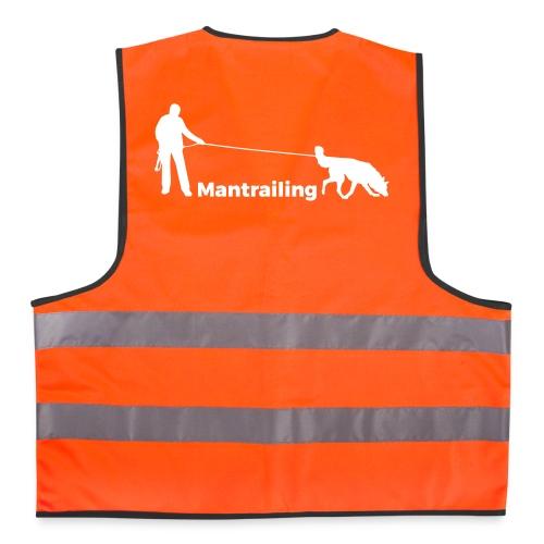 Gilet reflechissant Mantrailing - Gilet de sécurité