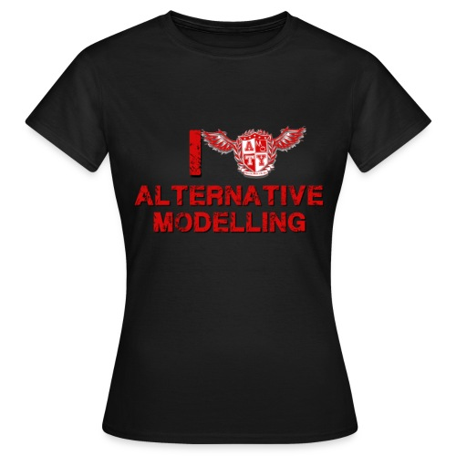 AMOTY Heart Tee - Ladies - Women's T-Shirt