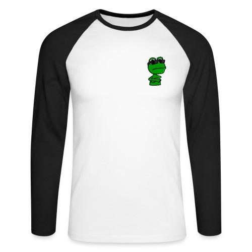 Qack-Langærmet - Langærmet herre-baseballshirt