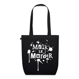 BIO-Stofftasche 'MILK is Murder' WR - Bio-Stoffbeutel