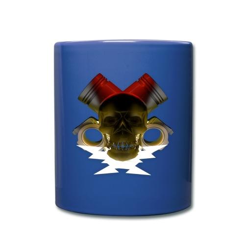 Mug tête de mort pistonné - Mug uni