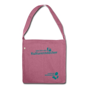 Schultertasche aus Recycling-Material Kulturentdecker - Schultertasche aus Recycling-Material