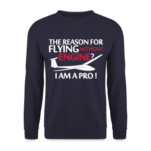 flying without engine - Männer Pullover