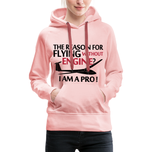 flying without engine - Frauen Premium Hoodie