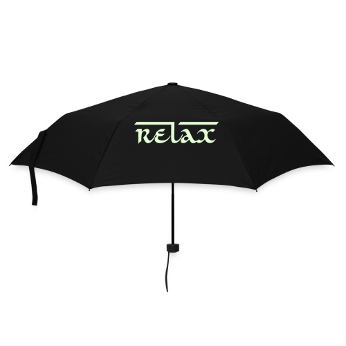 RELAX Glow in dark - Paraply (litet)