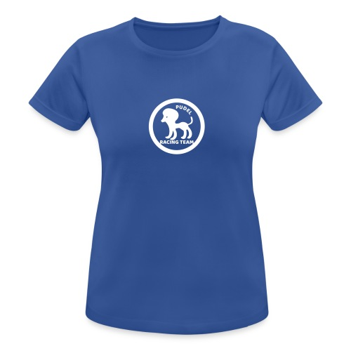 Pudel Sports Shirt - Frauen T-Shirt atmungsaktiv