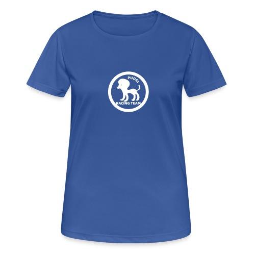 Pudel Sports Shirt - Frauen T-Shirt atmungsaktiv