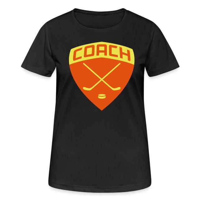 Ice Hockey Coach Women's Breathable T-Shirt