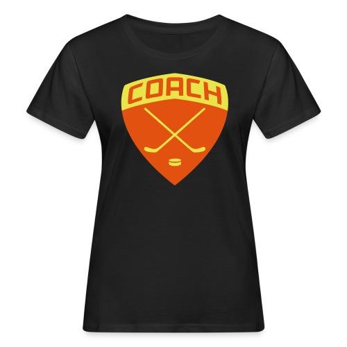 Ice Hockey Coach Women's Organic T-Shirt - Women's Organic T-Shirt