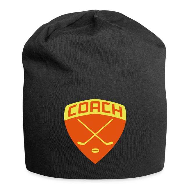 Ice Hockey Coach Relaxed Beanie Hat