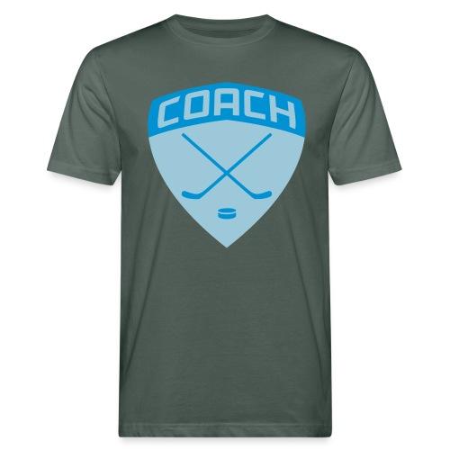 Ice Hockey Coach Men's Organic T-Shirt - Men's Organic T-Shirt