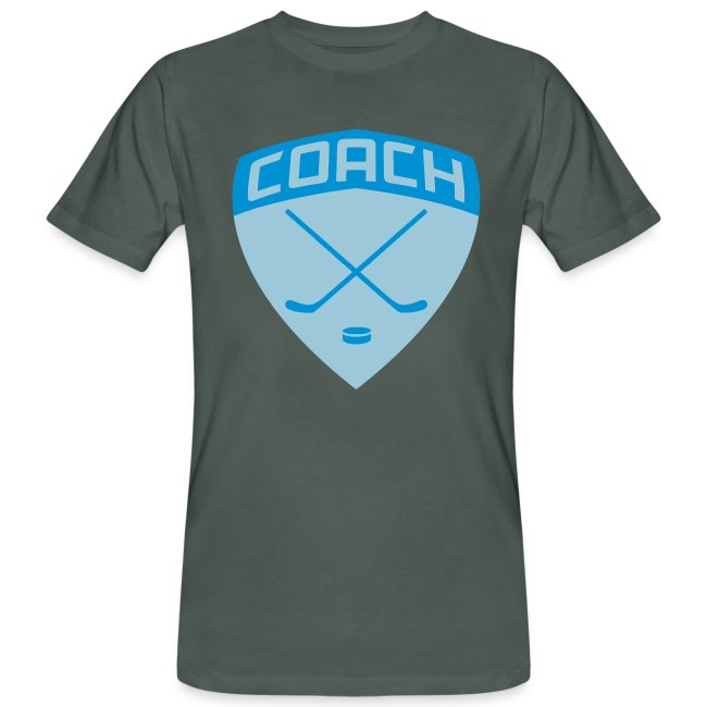 Ice Hockey Coach Men's Organic T-Shirt