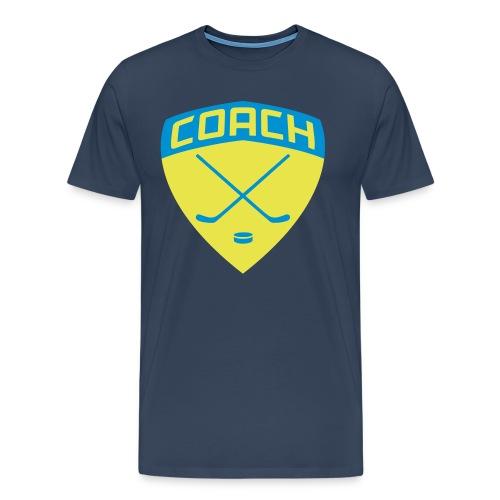 Ice Hockey Coach Men's Premium T-Shirt - Men's Premium T-Shirt