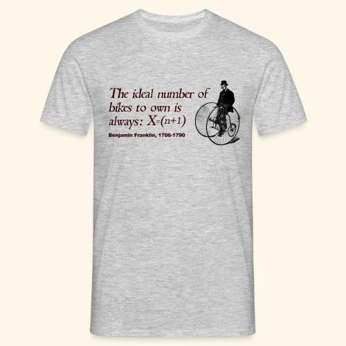 Bikes to own - Camiseta hombre