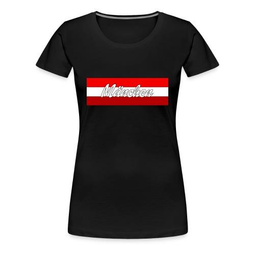 München Rot II Shirt II Frauen - Frauen Premium T-Shirt