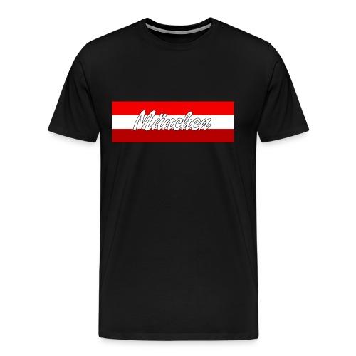 München Rot II Shirt II Männer - Männer Premium T-Shirt