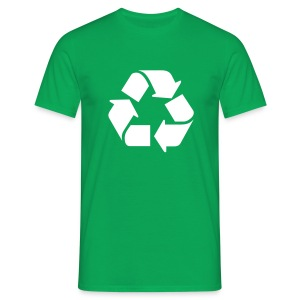 Recycle Icon (Leonard) - Mannen T-shirt