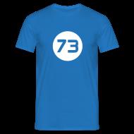 T-shirts ~ Mannen T-shirt ~ Nummer 73