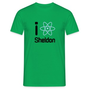 I like Sheldon - Mannen T-shirt