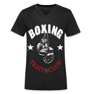 T-shirt Homme Boxing Fight Club - T-shirt Homme col V