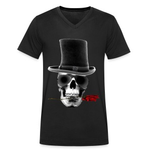 T-shirt Homme Dead but Happy - T-shirt Homme col V