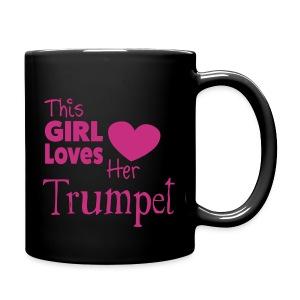 This Girl Loves Her Trumpet, Mug - Full Colour Mug