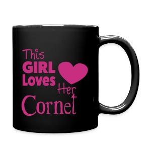 This Girl Loves Her Cornet, Mug - Full Colour Mug