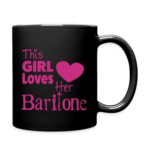 This Girl Loves Her Baritone, Mug - Full Colour Mug