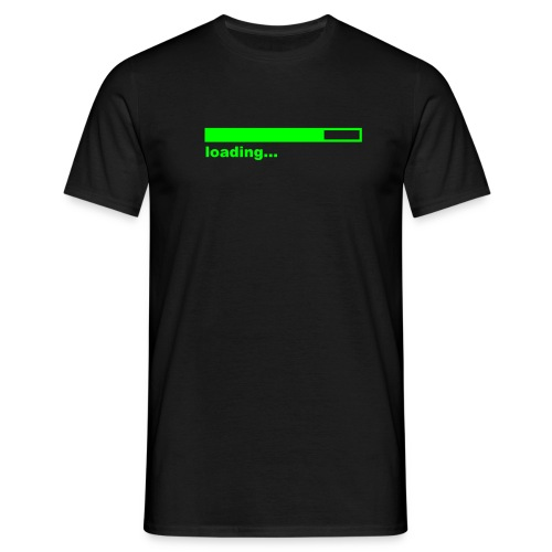loading-chasecc - Men's T-Shirt