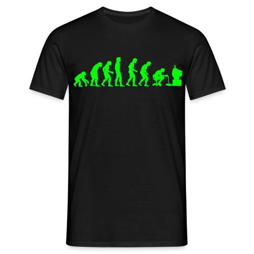 evolution-chasecc - Men's T-Shirt