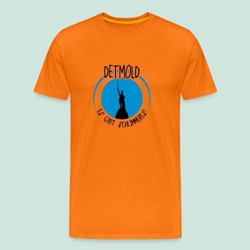 Detmold - Es gibt Schlimmeres - Männer Premium T-Shirt