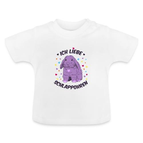Ich liebe Schlappohren - Baby T-Shirt