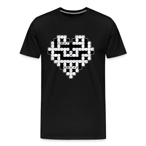 wordLOVE Mens Tee - Men's Premium T-Shirt