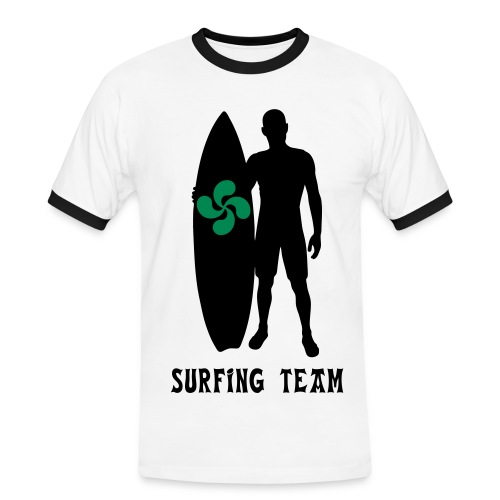 Basque surfing team - Men's Ringer Shirt