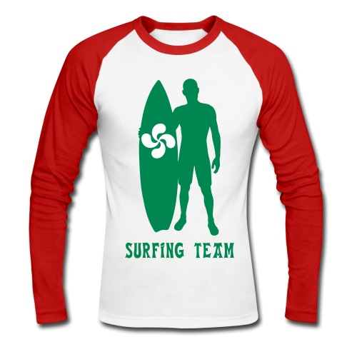 Basque surfing team - Men's Long Sleeve Baseball T-Shirt
