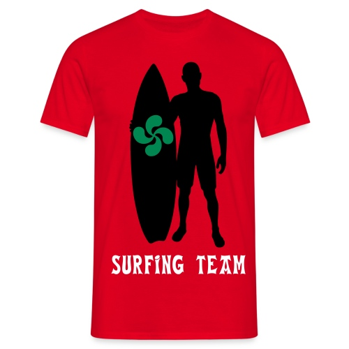 Basque surfing team - Men's T-Shirt