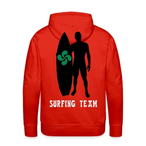 Basque surfing team - Men's Premium Hoodie